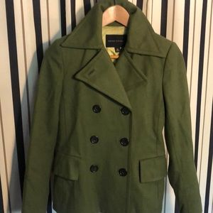 Beautiful Green Peacoat